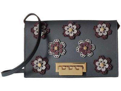 Zac Zac Posen - ZAC Zac Posen Iron Gate Hex Floral Earthette Cross Body Bag