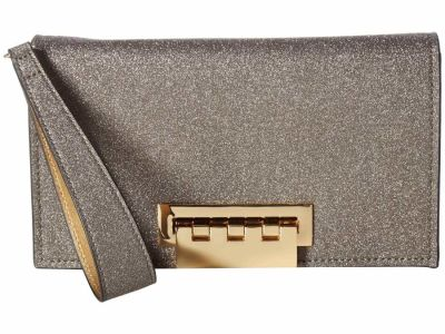 Zac Zac Posen - ZAC Zac Posen Metal Glitter Earthette Clutch Bag