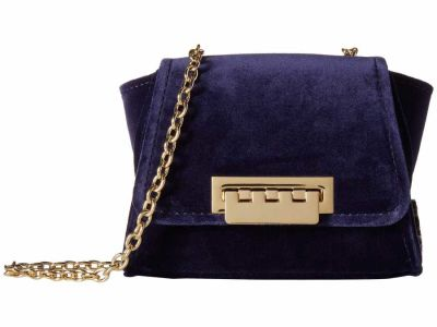 Zac Zac Posen - ZAC Zac Posen Parisian Nights Velvet Eartha Mini Chain Cross Body Bag