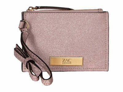 Zac Zac Posen - ZAC Zac Posen Rose Cloud Earthette Credit Card Wristlet Coin Card Case