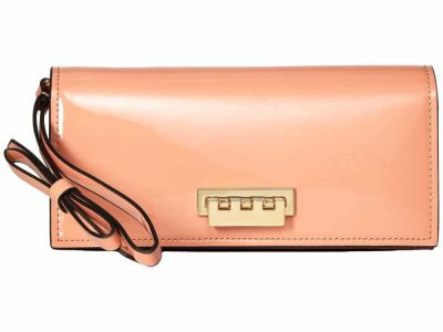 Zac Zac Posen - ZAC Zac Posen Rose Cloud Earthette Wristlet Checkbook Wallet