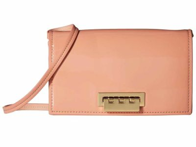 Zac Zac Posen - ZAC Zac Posen Rose Cloud Patent Earthette Cross Body Bag