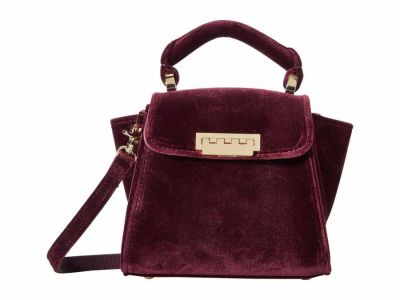 Zac Zac Posen - ZAC Zac Posen Vineyard Velvet Eartha Iconic Mini Top-Handle Satchel Handbag
