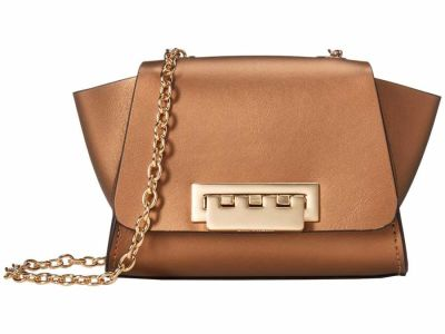 Zac Zac Posen - ZAC Zac Posen Woodsmoke Metallic Eartha Mini Chain Cross Body Bag